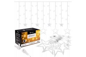 Гирлянда бахрома уличная (наружная) Springos 2 м 92 LED CL4009 Cold White