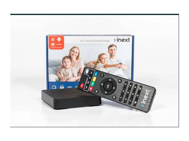 купить бу INeXT 4K ultra 2GB/16GB Android TV + SD 8 GB в Виннице