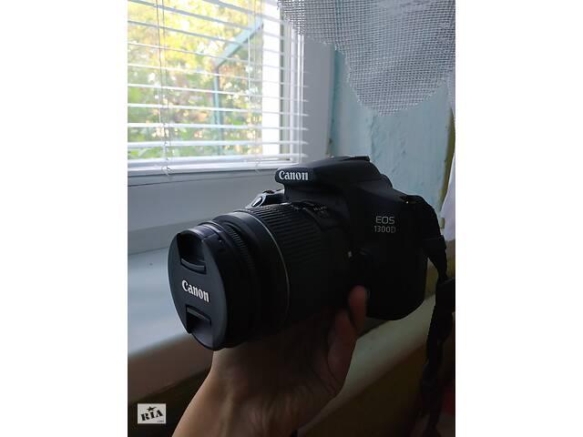 Камера canon 1300d в ідеальному стані- объявление о продаже  в Вінниці