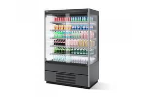 Холодильная горка BERG 125 Single glass door CHILZ (регал)
