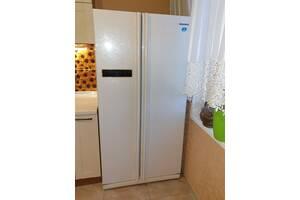 Холодильник Б/У SIDE-BY-SIDE SAMSUNG RS20CRMB5/BWT