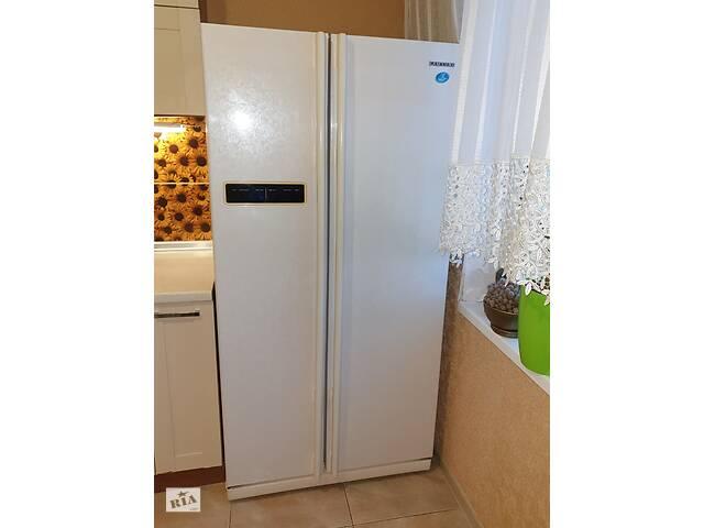 бу Холодильник Б/У SIDE-BY-SIDE  SAMSUNG RS20CRMB5/BWT в Киеве