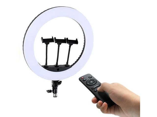 купить бу Кільцева лампа для блогера з пультом HQ 18N в Харкові