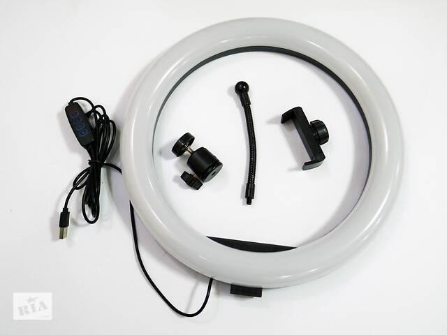 бу Кольцевая LED лампа S31 33см 1 крепл.тел USB в Днепре (Днепропетровск)