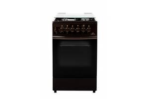Комбинированная плита Greta 1470-ГЕ/00 А коричневая
