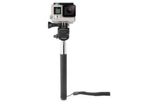 Кріплення для екшн-камер AirOn 3в1: монопод, кріплення-адаптери для екшн-камери телефону (AC161)