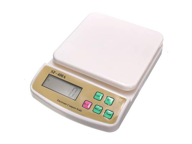 купить бу Кухонные весы Kronos Sf-400a с подсветкой до 7 кг (bks_00023) в Киеве