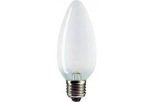 Лампочка PHILIPS E27 40W 230V B35 FR 1CT/10X10F Stan (921492144218)