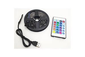Лента светодиодная LED RGB c bluetooth Kronos 5050 с пультом 7680 (gr_017092)