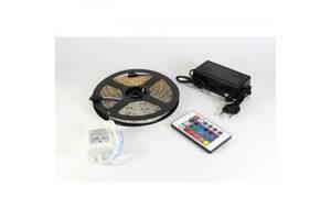 Лента светодиодная RGB 5050 5 метров 300 LED Готовый комплект (44917-IM)