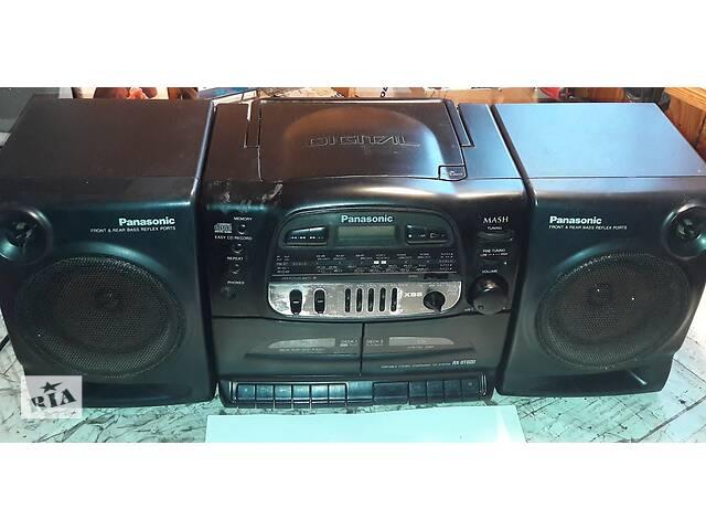 Магнитола, магнитофон- Panasonic RX-DT600- объявление о продаже  в Киеве