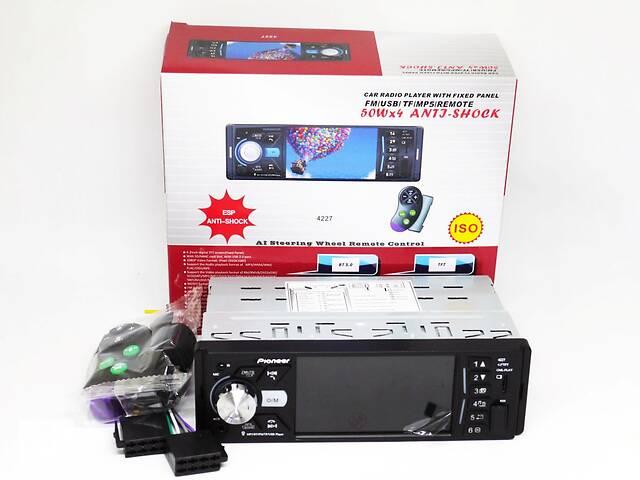 купить бу Магнитола Pioneer 4227 ISO - экран 4,1 & # 039; & # 039; + DIVX, MP3 + USB + SD + Bluetooth в Виннице