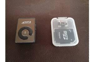 MP3-плеєр чорний + microSD 512MB