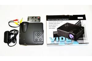 Міні проектор портативний мультимедійний Led Projector W662 H80