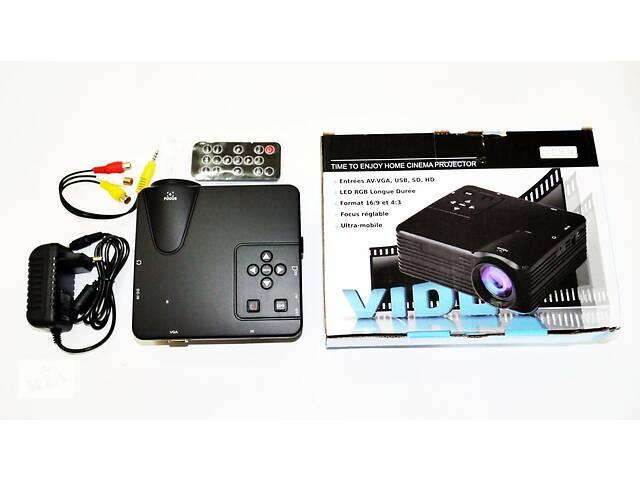 Мини проектор портативный мультимедийный Led Projector W662 H80- объявление о продаже  в Днепре (Днепропетровск)