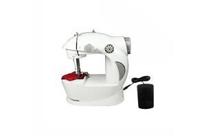 Мини швейная машинка Kronos Mini Sewing Machine 4в1 Белая (par_machine)