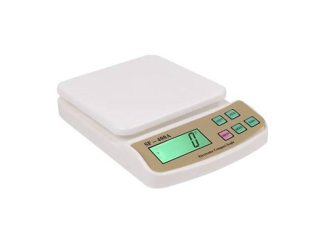 купить бу Настольные кухонные электронные весы для взвешивания продуктов Kitchen SF-400A с дисплеем для дома до 5кг в Харькове