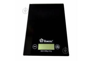 Настольные кухонные электронные весы для взвешивания продуктов DOMОTEC MS-912  с дисплеем для дома до 5кг