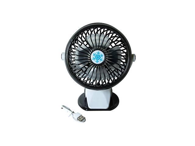 продам Портативный аккумуляторный настольный мини вентилятор ML ручной USB мини вентилятор на батарейках бу в Харкові