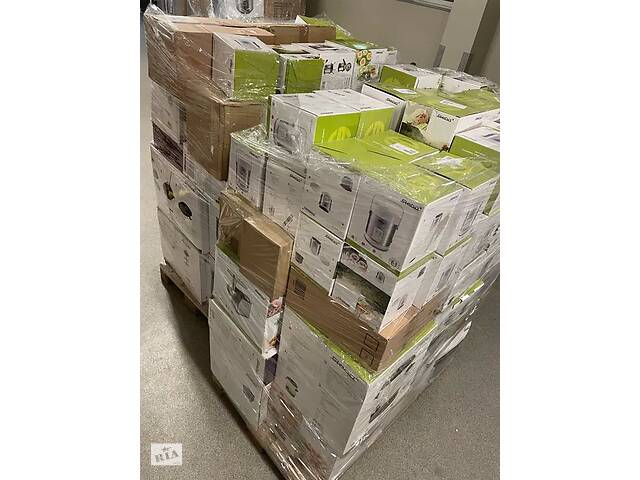 продам Палеты MIX/AGD Категория А,Новый товар. бу в Львове