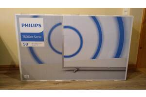 Philips 58PUS7555/12  4K UHD, Smart