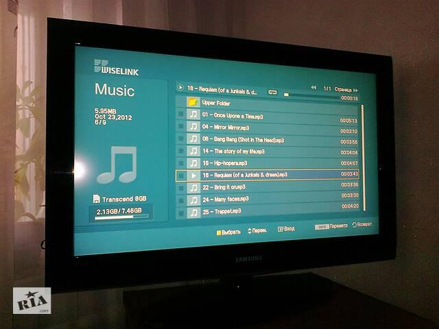 продам Плазмовий телевізор Самсунг (+ медіа преер з інтернетом в подарок) бу в Киеве
