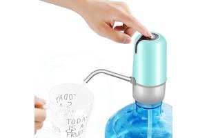 Помпа для воды электрическая с аккумулятором Pump Dispenser Green SKL25-223382