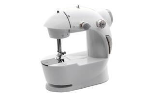 Портативна швейна машинка 4 в 1 Kronos з педаллю і адаптером 220 (bks_02365)