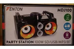 Продам  Музыкальный центр Fenton MDJ100 100W с батареей