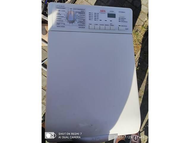 купить бу Продам пральну машину марки Aeg на 5,5 кг в Дрогобыче