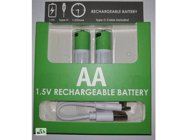 купить бу  Літій-іонні акумуляторні батарейки типу АА. 2600 mWh в Дубні