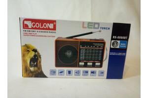 Радіоприймач Golon RX-8866 USB, MICRO SD, FM, AM, SW