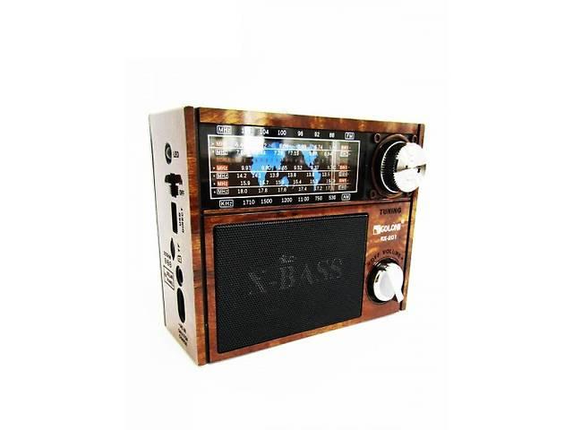 бу Радиоприемник колонка MP3 Golon RX-201 Wooden (par_RX 201) в Киеве