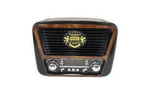 Радиоприемник колонка MP3 Golon RX-435 Wooden (gr007198)
