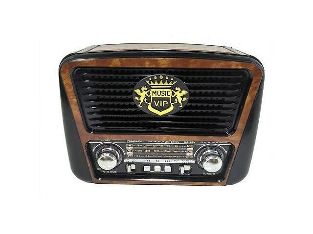 купить бу Радиоприемник колонка MP3 Golon RX-435 Wooden (gr007198) в Киеве