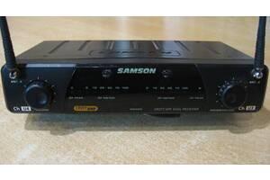 Радиосистема Samson CR277 UHF Dual Receiver, на два передатчика!