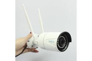 Reolink RLC-410W Двухдиапазонная 2.4/5 ГГЦ уличная Wi-Fi IP Камера 4MP