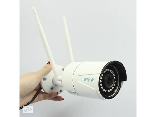 купить бу Reolink RLC-410W Двухдиапазонная 2.4/5 ГГЦ уличная Wi-Fi IP Камера 4MP в Ровно