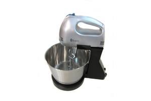 Ручной миксер Domotec MS-1133 с металлической чашей 7 режимов серебро (gr_005313)