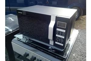 Sarp новая микроволновка из Европы без тарелки черного цвета.