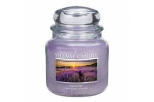 Свеча Village Candle Лаванда 455г (время горения до 105 часов)