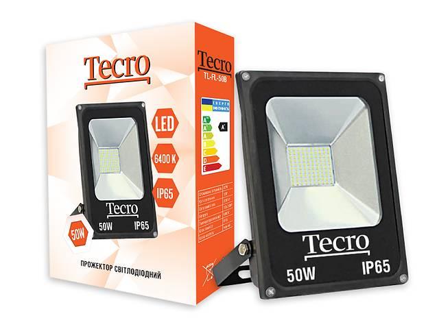 купить бу Светодиодный прожектор Tecro TL-FL-50B 50W 6400K в Харькове