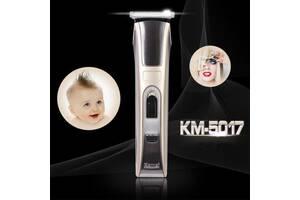 ТОП ТОВАР !!! Електрична машинка для стрижки волосся Kemei KM-5017 бездротова, Бритва, Тример