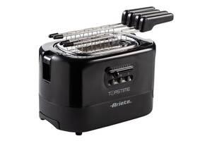 Тостер Ariete 0159 Black с решеткой