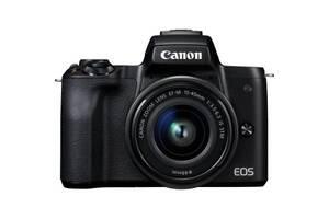 Цифровой фотоаппарат Canon EOS M50 15-45 IS STM Kit black (2680C060)