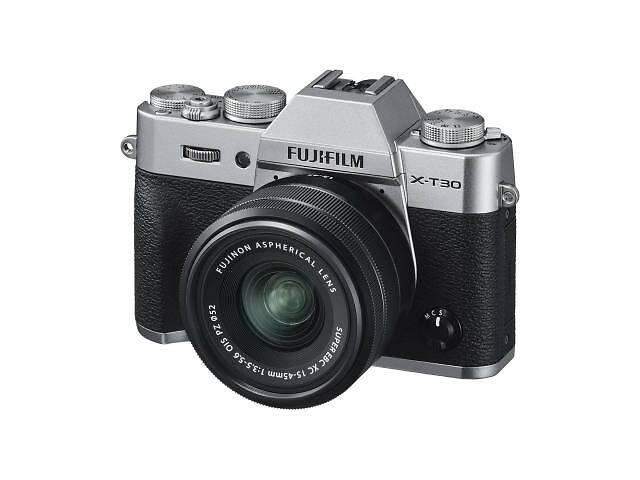 продам Цифровой фотоаппарат Fujifilm X-T30 XC 15-45mm F3.5-5.6 Kit Silver (16619126) бу в Харькове