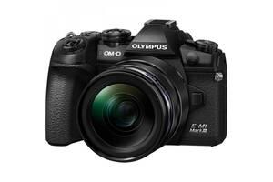 Цифровой фотоаппарат OLYMPUS E-M1 mark III 12-40 Kit black/black (V207101BE000)