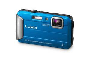 Цифровий фотоапарат PANASONIC DMC-FT30EE-A Blue (DMC-FT30EE-A)
