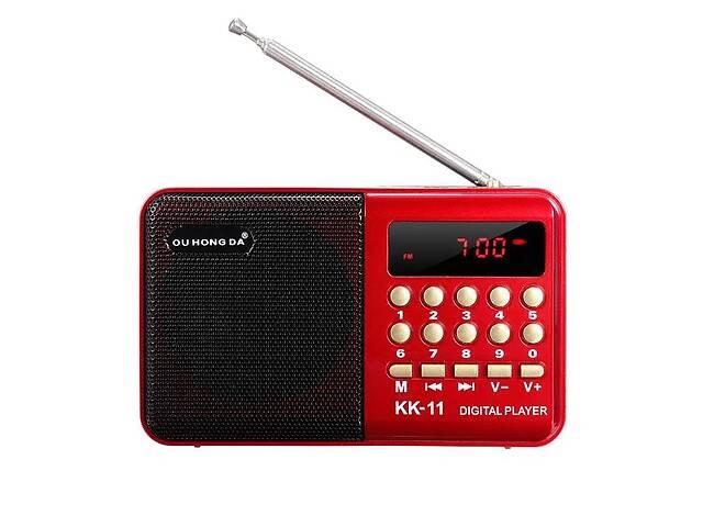 Цифровой радиоприемник Li-Ion аккумулятор 18650 MP3 плеер флешка FM радио приемник- объявление о продаже  в Николаеве