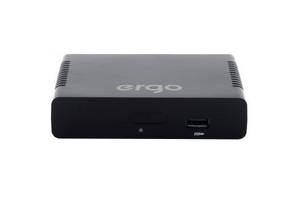 ТВ тюнер Ergo 1108 (DVB-T, DVB-T2) (STB-1108)